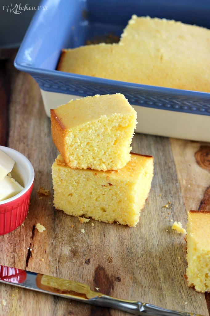 Easy Buttermilk Cornbread 2