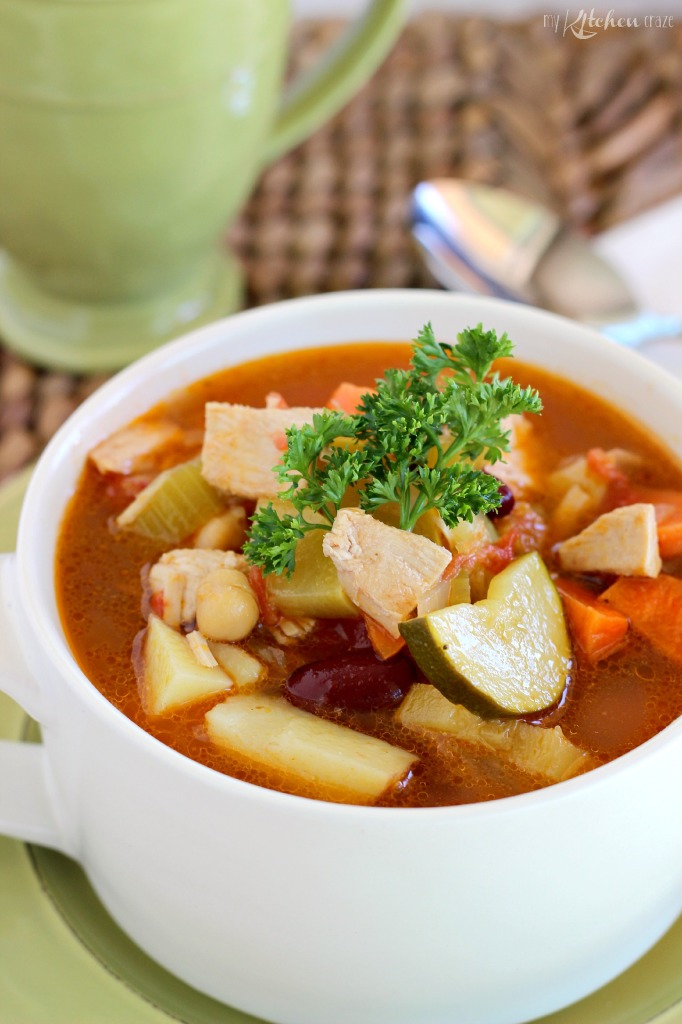 Turkey Vegetable Soup 1
