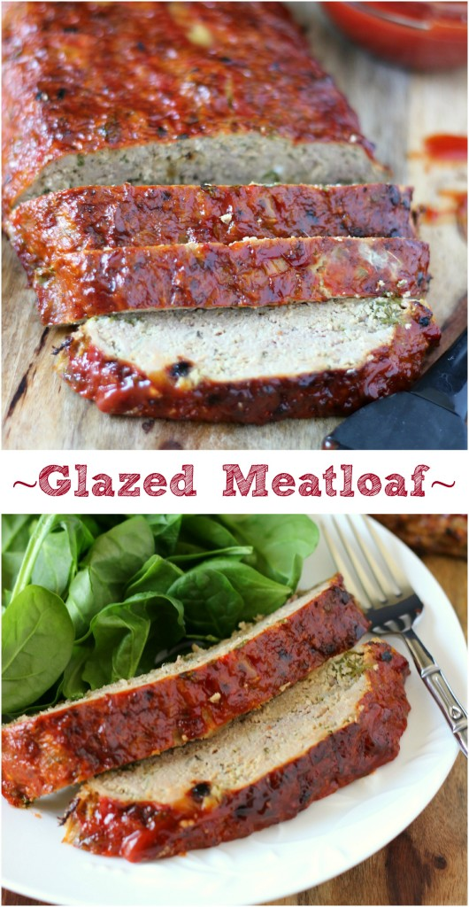 Glazed Meatloaf ~ A classic twist to your everyday meatloaf recipe. Put down that ketchup bottle and smother it with a homemade glaze. Delicious! ~ www.mykitchencraze.com