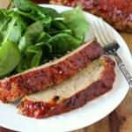 Glazed Meatloaf ~ A classic twist to your everyday meatloaf recipe. This Glazed Meatloaf is delicious, moist and tasty!  You'll never go back to simple meatloaf again! ~ www.mykitchencraze.com