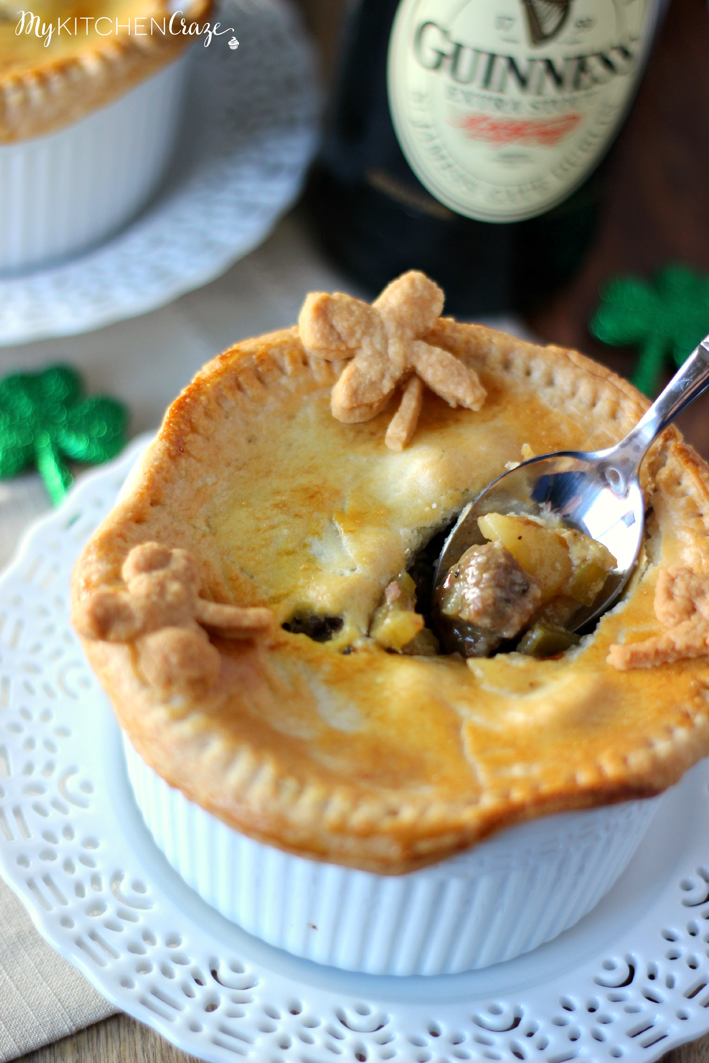 Guinness Beef Pot Pie ~ Delicious meat braised in Guinness beer then ...