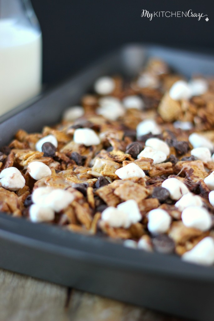 S'mores Bars ~ mykitchencraze.com ~ These treats are perfect for your afternoon snack!