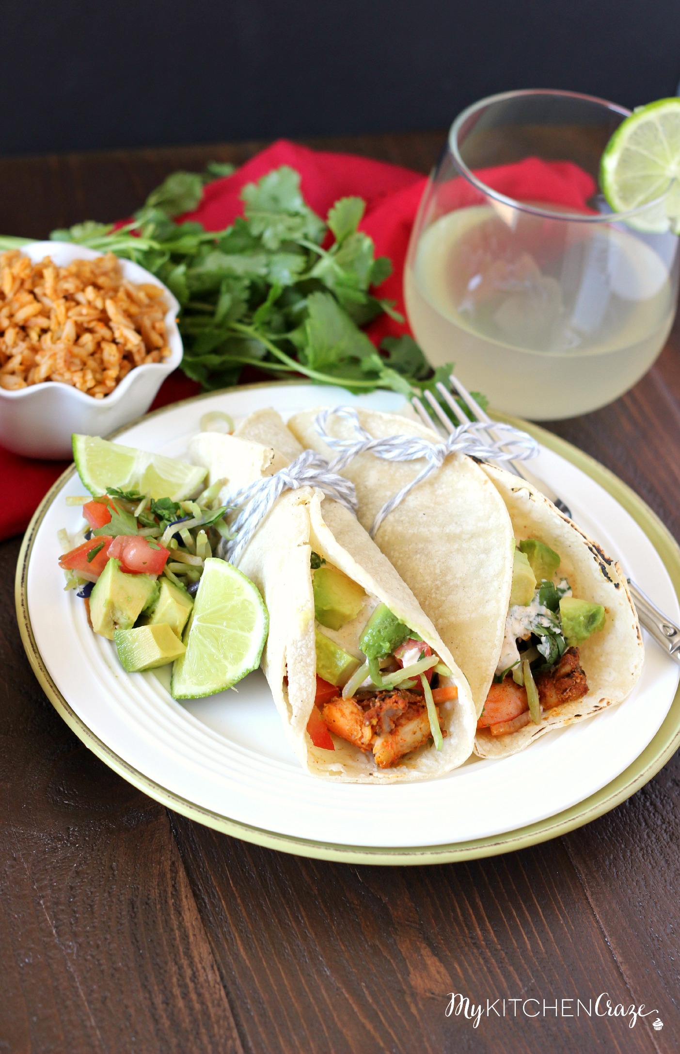 Cajun Shrimp Tacos - My Kitchen Craze