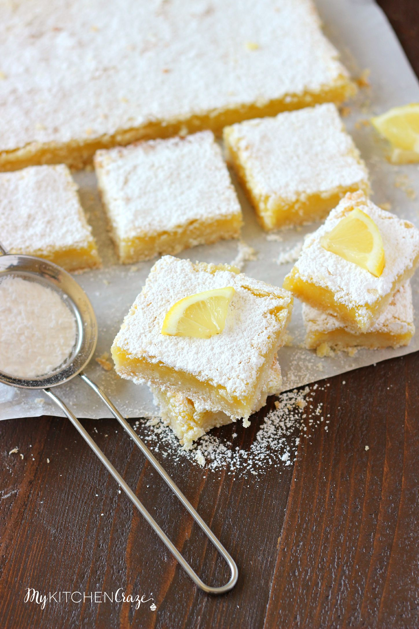 Lemon Bars ~ mykitchencraze.com