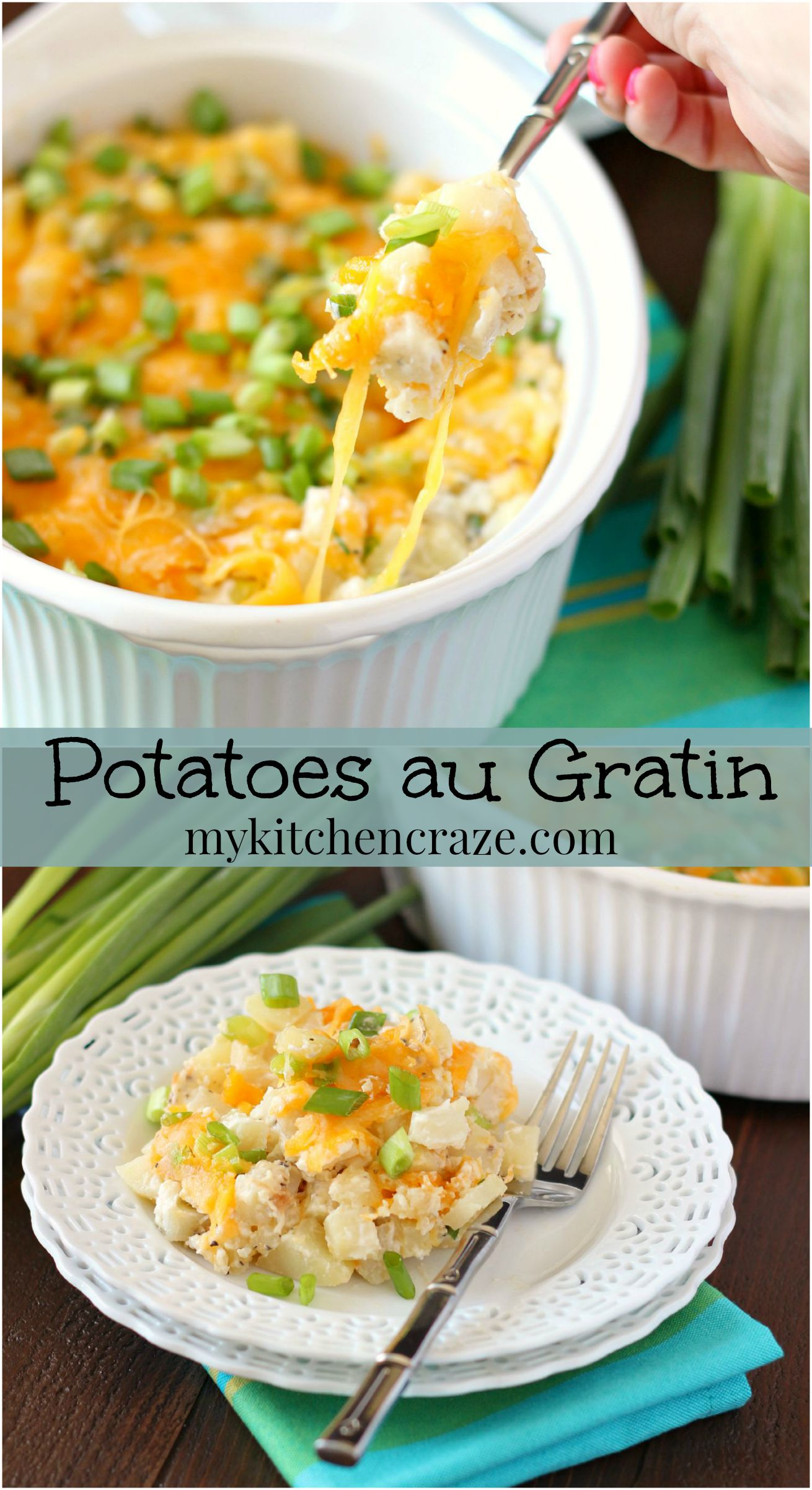 Potatoes au Gratin ~ mykitchencraze.com