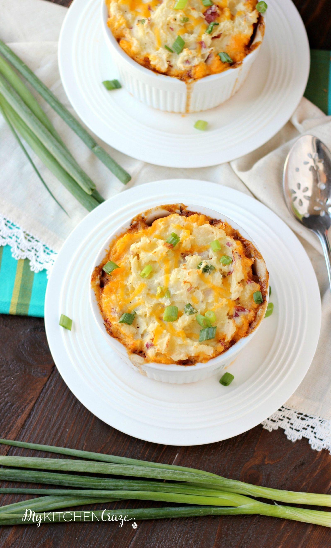 Turkey Shepherd's Pie ~ mykitchencraze.com