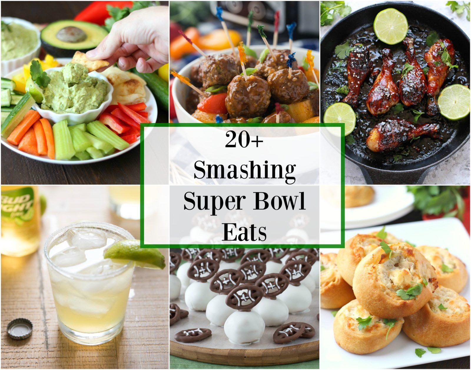20+ Smashing Super Bowl Eats