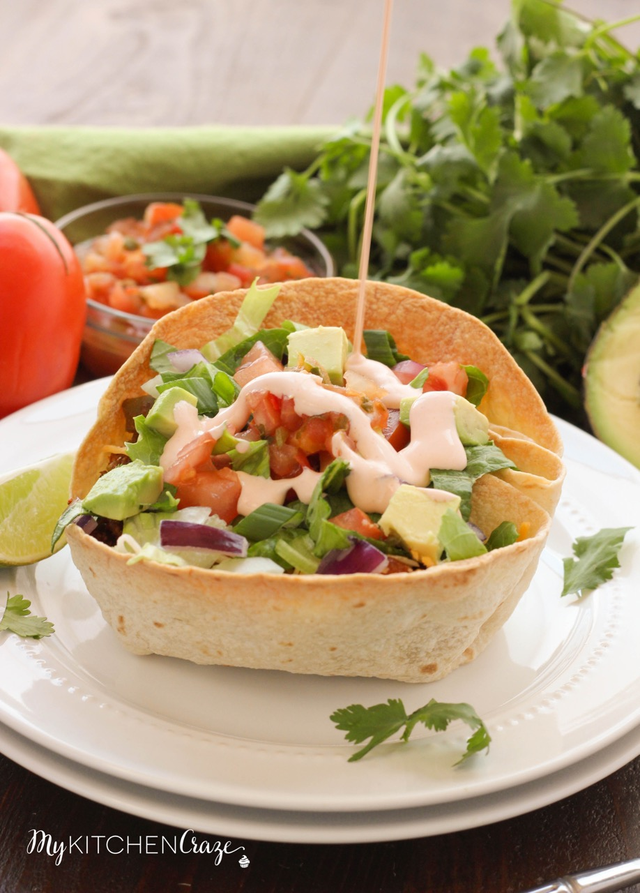 Tex-Mex Taco Salad ~ mykitchencraze.com ~ A delicious meal done within 30 minutes.