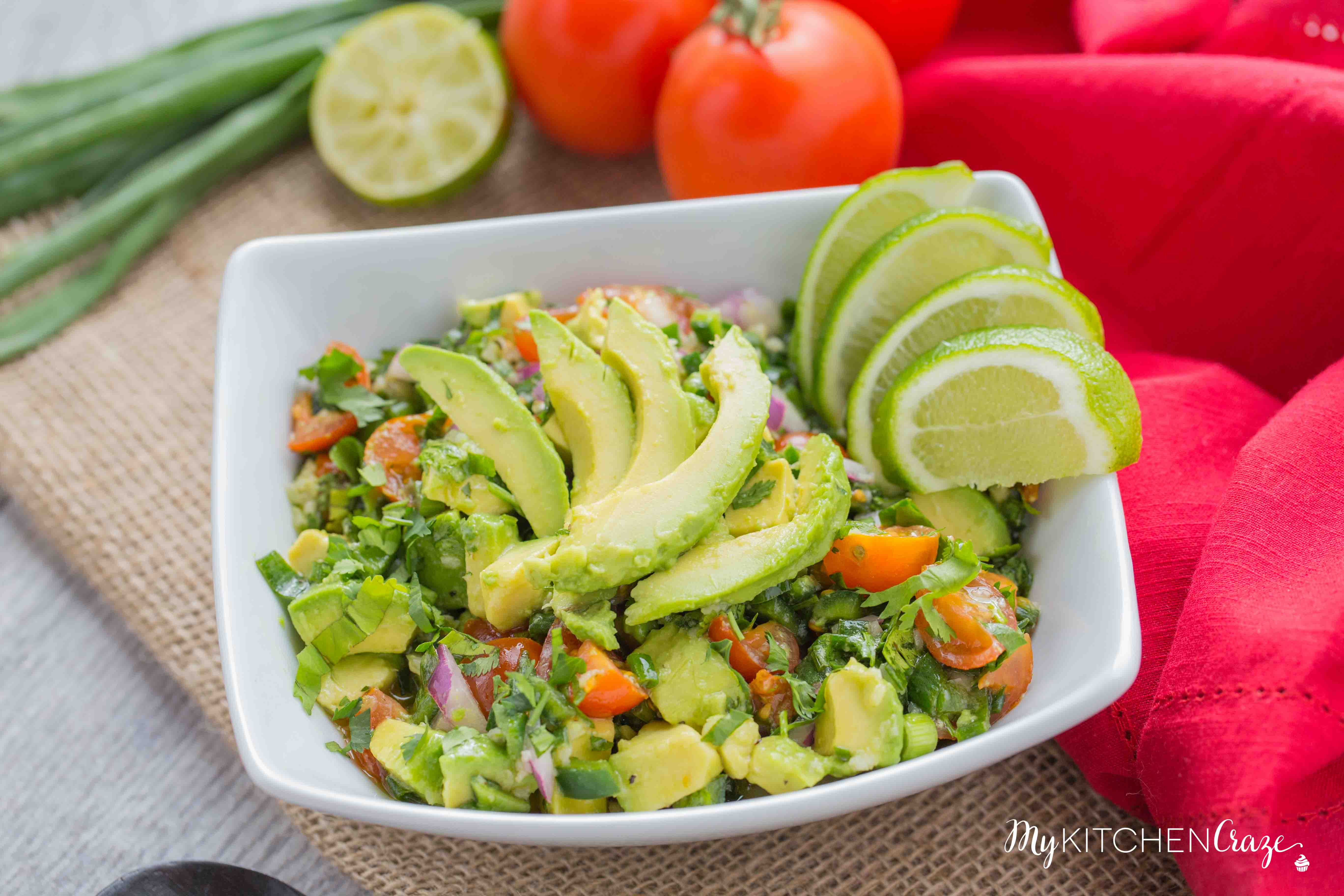 Avocado Salad_-3Avocado Salad ~ mykitchencraze.com ~ Enjoy this easy and refreshing Avocado Salad as a side dish or a main entree. Either way it's easy to make and tastes delicious!
