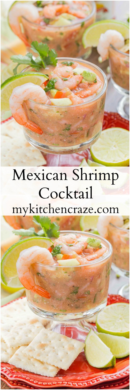 Mexican Shrimp Cocktail ~ mykitchencraze.com
