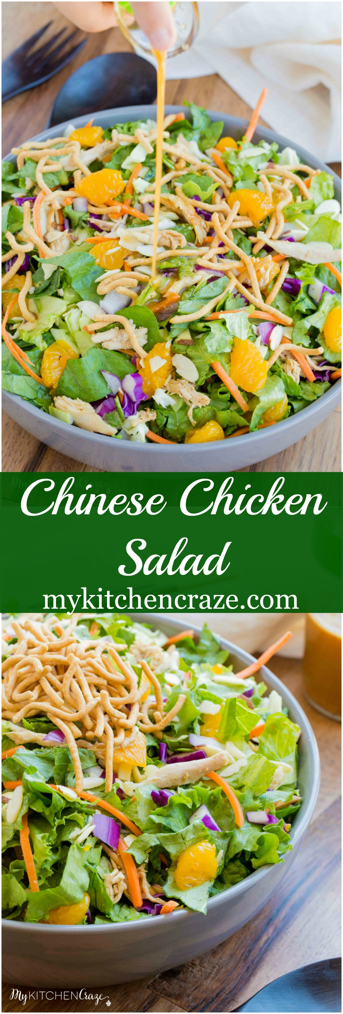 Chicken And Vegetable Salad With Chinese Sesame Sauce Recipe ...