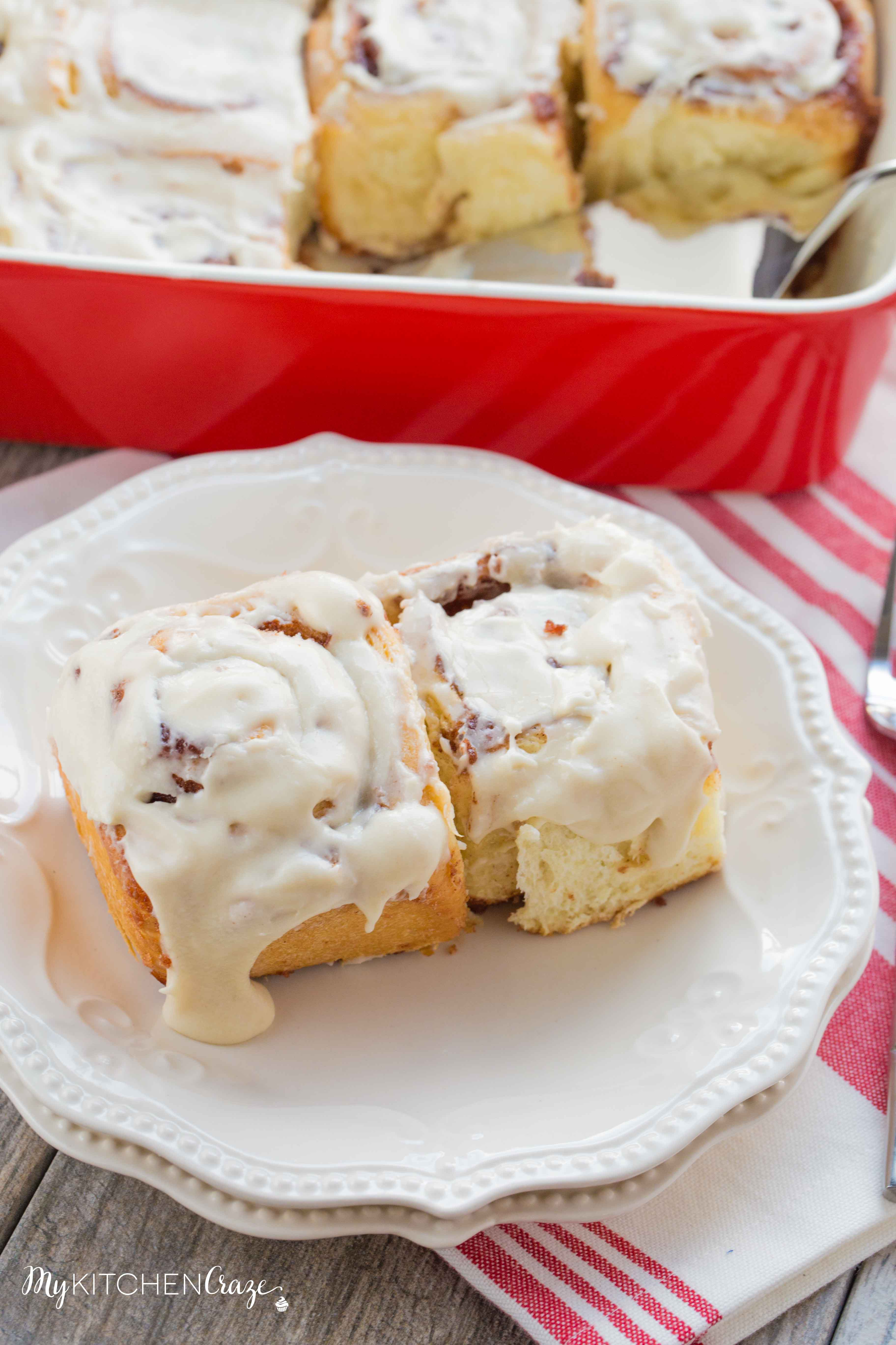 Classic Cinnamon Rolls ~ mykitchencraze.com ~ Wake up to the smell of a delicious moist cinnamon roll! Be sure to grab that cup of coffee.