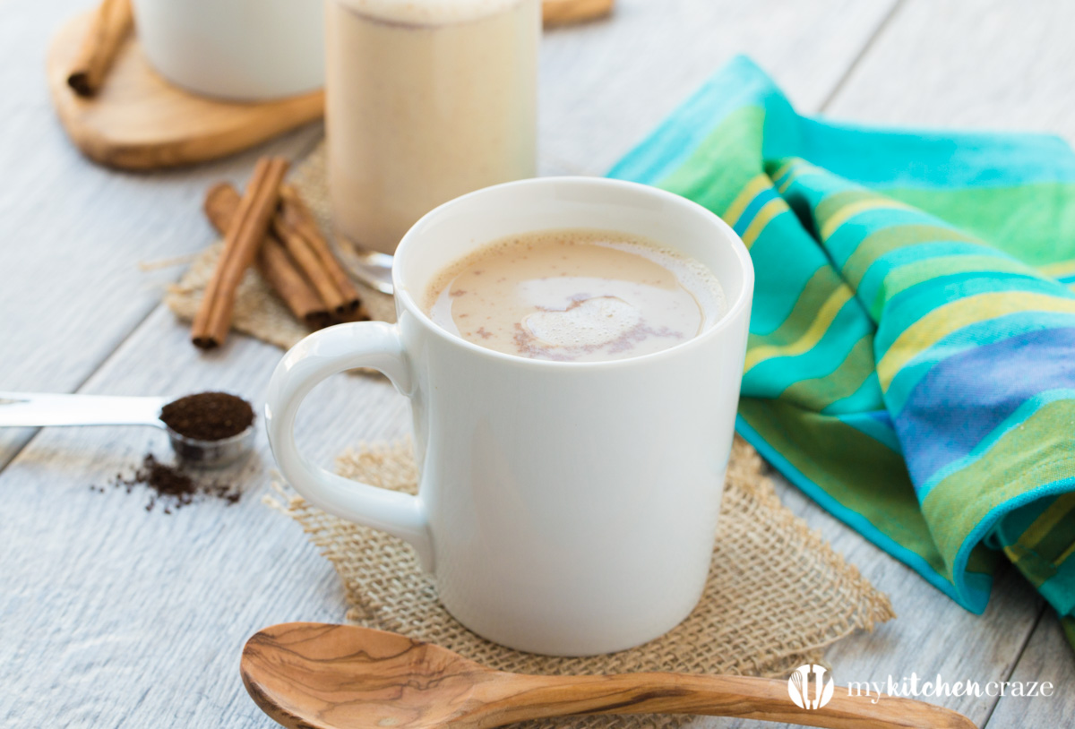 Cinnamon Maple Coffee Creamer is the perfect companion for your morning or afternoon coffee. Made with only 6 ingredients, you can have your very own homemade creamer on hand at all times.